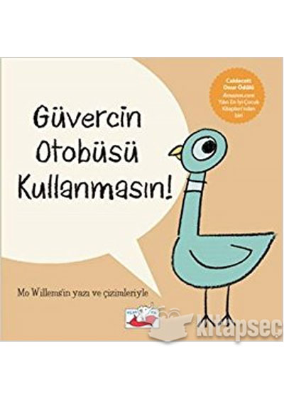 Güvercin Otobüsü Kullanmasın Uçan Fil Yayınları 9786059933278