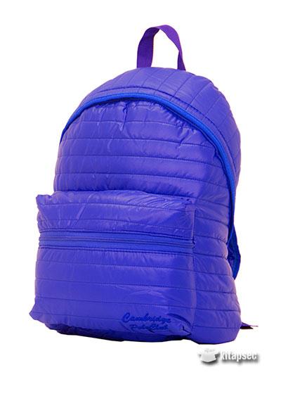 Sax Mavi Küçük Boy Paraşüt çantası Burak Grup çanta 8681413606342