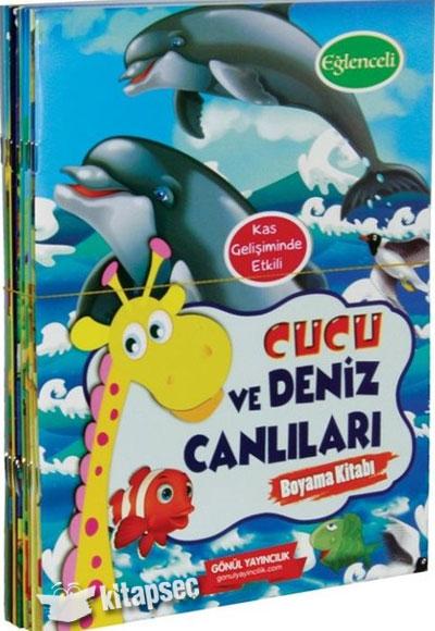 Cucu Boyama Kitapları 10 Kitap Takım Gönül Yayıncılık 9786054784776