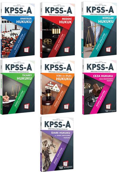 2018 Kpss A Grubu Hukuk Konu Anlatım Seti 657 Yayınları 5747