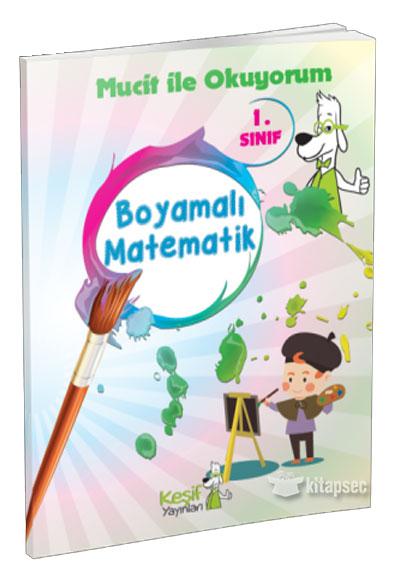 1 Sinif Boyamali Matematik Kesif Yayinlari 9786059340281
