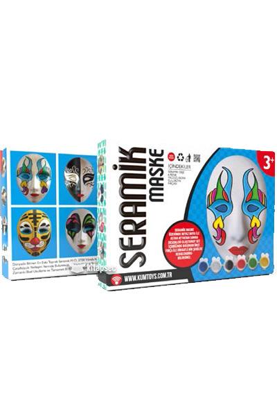 Seramik Maske Boyama Kum Toys 8681049052179