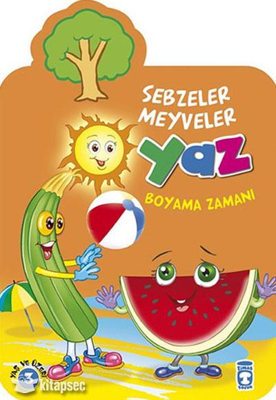 Yaz Boyama Zamani Timas Yayinlari 9786050820690