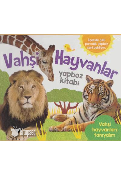 Vahsi Hayvanlar Yapboz Kitabi Abc Yayin Grubu 9781760455002