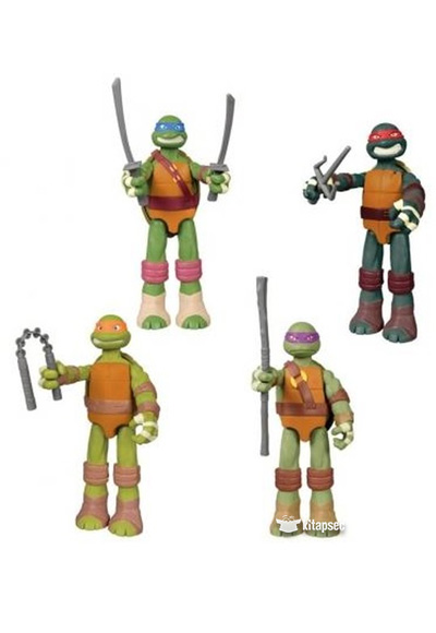 Ninja Kaplumbagalar Dev Figur W 91110 Playmates Toys 8056379026808