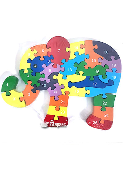 Fil Ahsap Puzzle Good Time 9786057000394