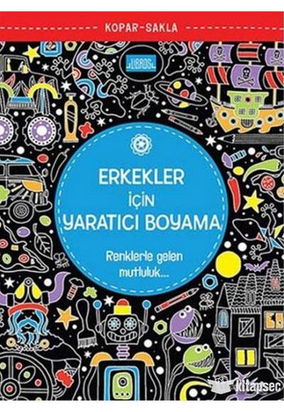 Erkekler Icin Yaratici Boyama Libros Yayinlari 9786059151085