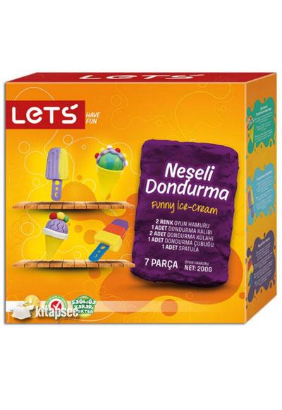 Neseli Dondurma Oyun Hamuru Seti L8434 Lets 8680679800433