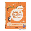 Live in English Stories Grade 5 - 10 Books CD Living English Dictionary