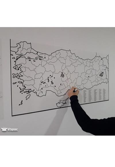 Türkiye Haritası 11056 Cm Kağıt Tahta 8690001001346