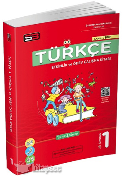 1 Sinif Turkce Etkinlik Ve Odev Calisma Kitabi Soru Bankasi