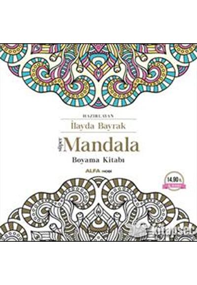 Süper Mandala Boyama Kitabı Alfa Yayınları 9786051711355