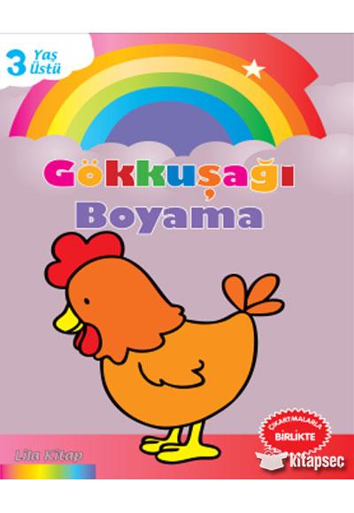 Gökkuşağı Boyama Lila Kitap Parıltı Yayınları 9786051007816