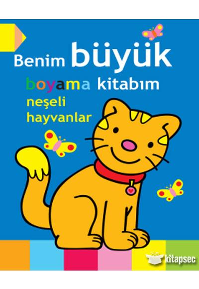 Benim Büyük Boyama Kitabım Parıltı Yayınları 9786051006604