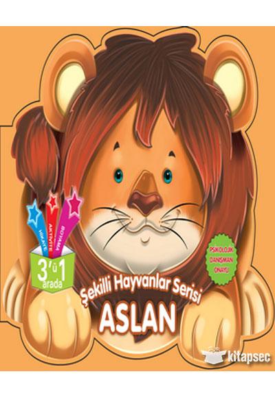 Sekilli Hayvanlar Serisi Aslan Parilti Yayinlari 9786051008295