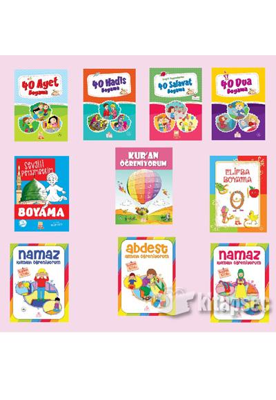 Okul öncesi Ramazan Seti 10 Kitap Nesil çocuk Yayınları 9786051834160