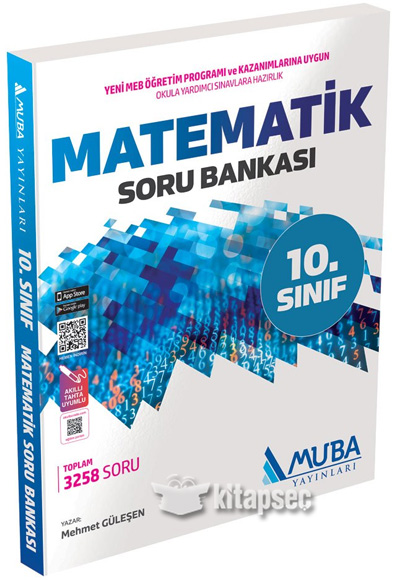 10 Sınıf Matematik Soru Bankası Muba Yayınları 9786059472692