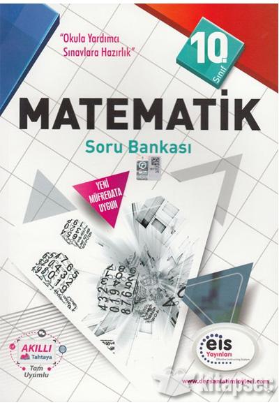 10 Sınıf Matematik Soru Bankası Eis Yayınları 9786059599450