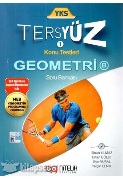 Yks Tersyuz Geometri B Soru Bankasi Nitelik Yayinlari 9786058146440