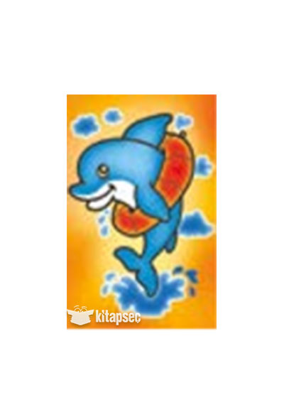 Kum Boyama Yunus Balığı Kb 17 Kum Toys 868104905027417