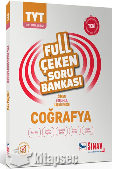 Tyt Coğrafya Full çeken Soru Bankası Sınav Dergisi Yayınları