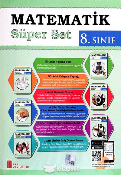 8 Sinif Matematik Super Set Ata Yayincilik 9786052610817