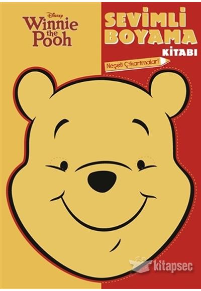 Winnie The Pooh Sevimli Boyama Kitabi Dogan Egmont Yayincilik
