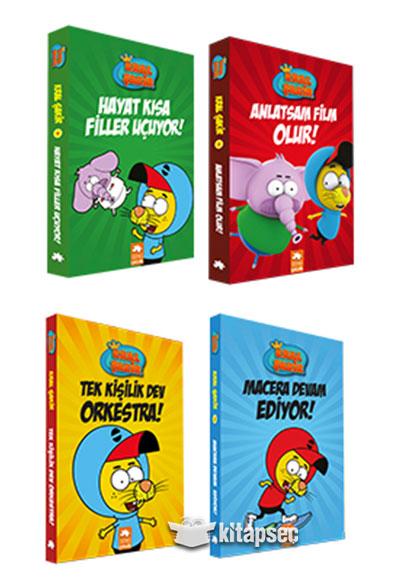 Kral Sakir Set 4 Kitap Eksik Parca Yayinlari 6604
