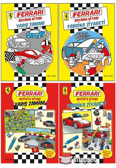 Ferrari Boyama Ve Aktivite Seti Beta Kids 9780000503404