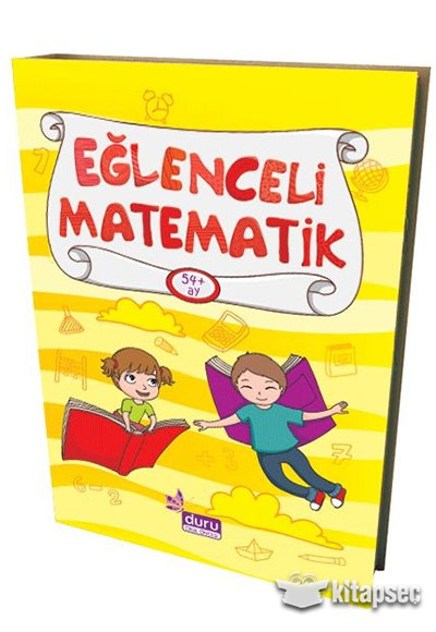 Okul Oncesi Eglenceli Matematik 54 Ay Duru Yayinlari 9786054479870