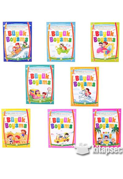 Büyük Boyama 8 Kitap Ema çocuk 9786059657013