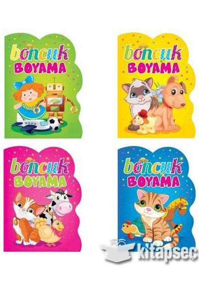 Boncuk Boyama Kitabi Seti 4 Kitap Ema Cocuk 9786053880486