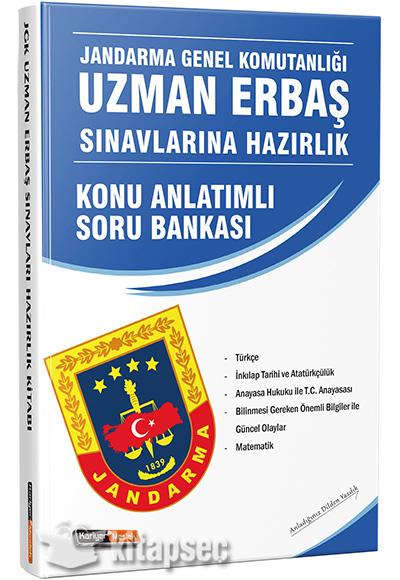 Jandarma Genel Komutanligi Uzman Erbas Sinavlarina Hazirlik Kitabi