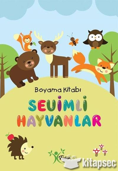 Sevimli Hayvanlar Boyama Kitabi Fidan Yayinlari 9786052480304
