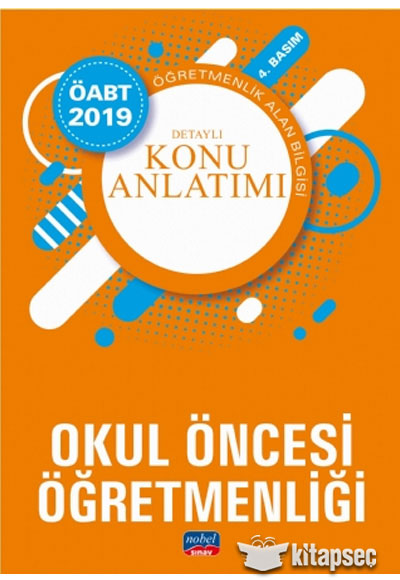 2019 Oabt Okul Oncesi Ogretmenligi Detayli Konu Anlatimi Nobel