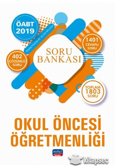 2019 Oabt Okul Oncesi Ogretmenligi Soru Bankasi Nobel Sinav
