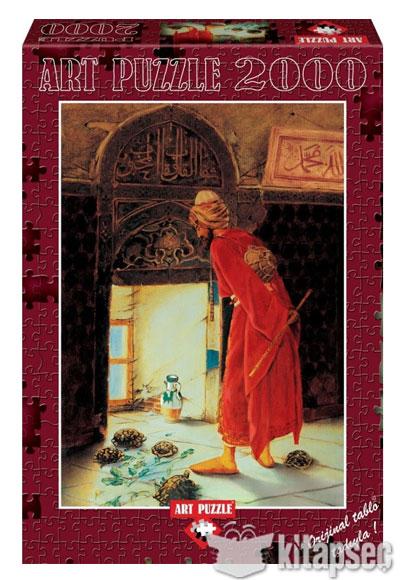 Kaplumbaga Terbiyecisi 2000 Parca Art Puzzle 8697950847131