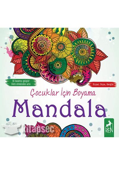 Cocuklar Icin Boyama Mandala Ren Kitap 9786059840361