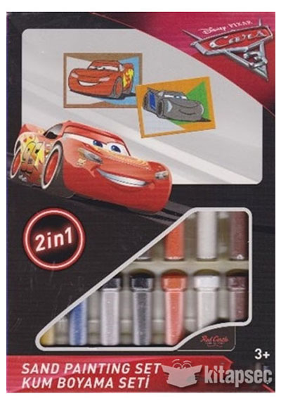 Cars 3 Kum Boyama Seti Ds 29 Juno 8699296254635