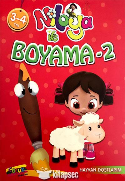 Niloya Ile Boyama 2 Keskin Color 9787565320171