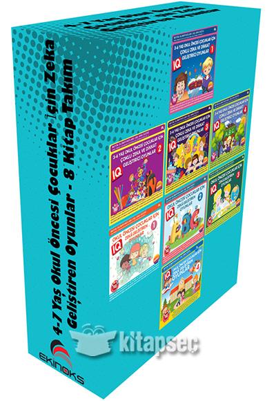 4 7 Yas Okul Oncesi Cocuklar Icin Zeka Gelistiren Oyunlar 8 Kitap