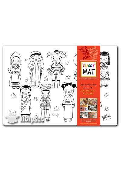 Funny Mat 1011 Dunya Cocuklari Akademi Cocuk 8681379310116