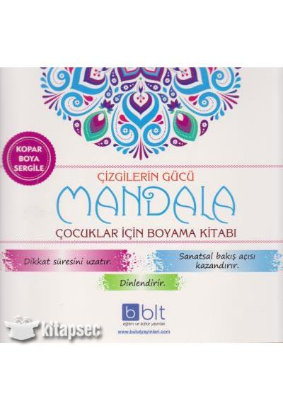 çizgilerin Gücü Mandala çocuklar Için Boyama Kitabı Bulut Eğitim