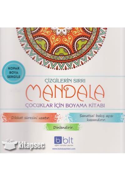 çizgilerin Sırrı Mandala çocuklar Için Boyama Kitabı Bulut