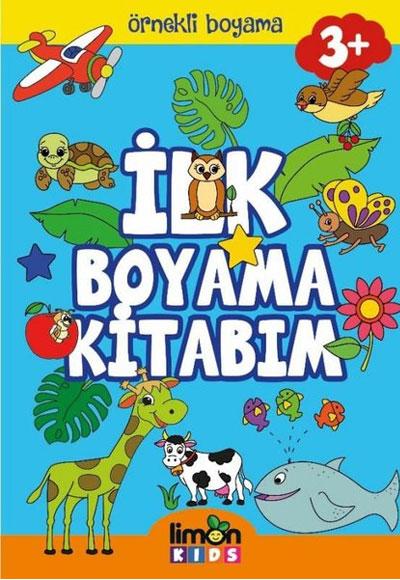 Ilk Boyama Kitabim Ornekli Boyama Limonkids 9786058061606