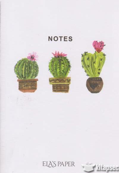 Not Defteri Kaktus Notes Elas Paper 8008002002161