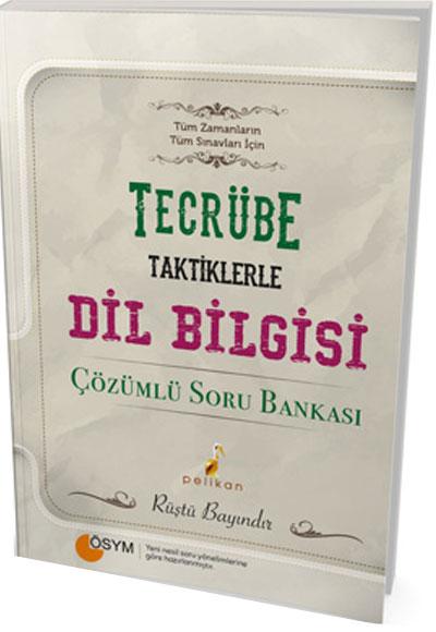 Pelikan - Tecrübe Dilbilgisi Tamamı Çözümlü Soru Bankası PDF İndir 1 | 1562329966