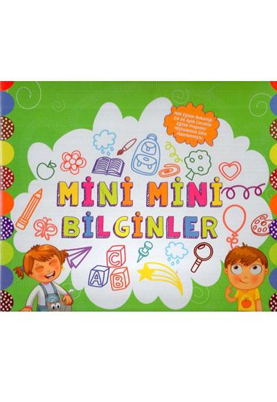 Mini Mini Bilginler Okul Oncesi Egitim Seti Mor Elma Yayincilik