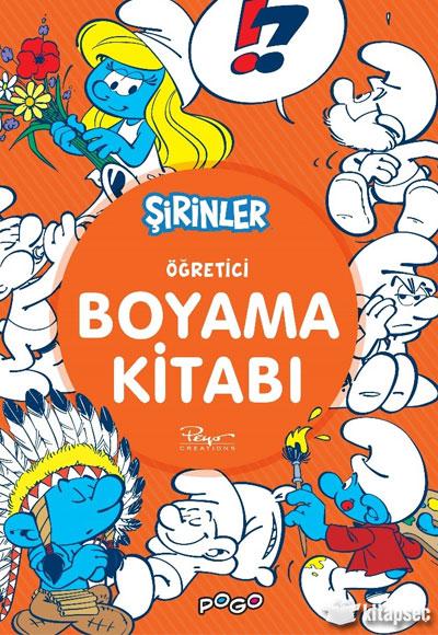 Ogretici Boyama Kitabi Sirinler Pogo Cocuk 9786052302248