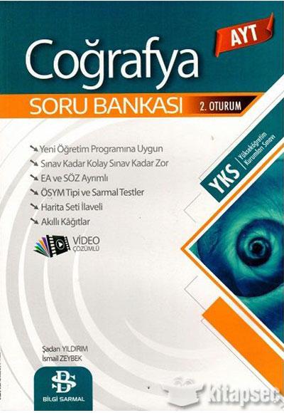 Ayt Cografya Soru Bankasi Bilgi Sarmal Yayinlari 9786057532619